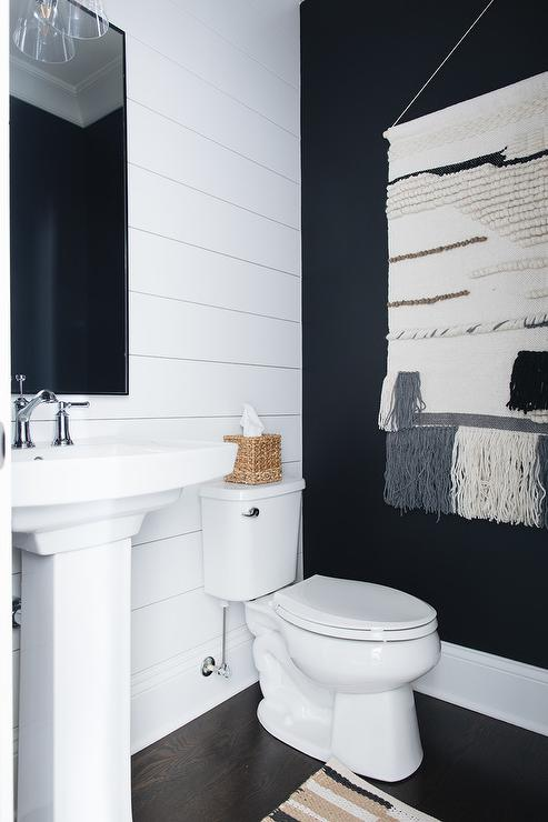 Shiplap Powder Room Design Ideas