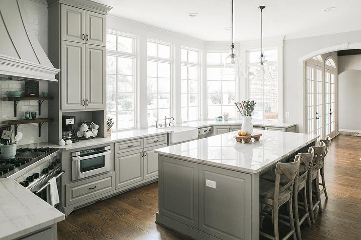 corner kitchen sink cabinet paint or stain cabinets gallery - grays colors and brands design ...