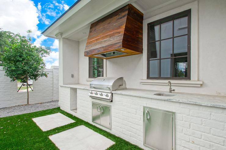 Reclaimed Wood Kitchen Hood Design Ideas