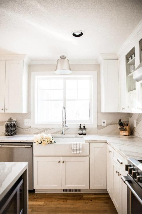 frameless kitchen cabinets moen single handle faucet installation cambria torquay countertops design ideas - page 1