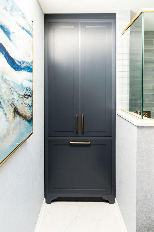 Floor To Ceiling Bathroom Cabinets Design Ideas