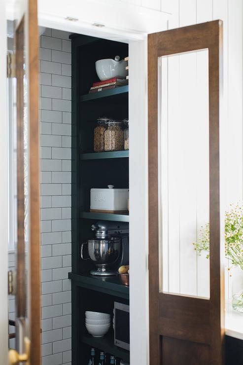 Pantry with BiFold Doors  Country  kitchen  Atlanta