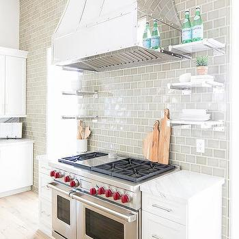 ceiling tiled kitchen accent wall