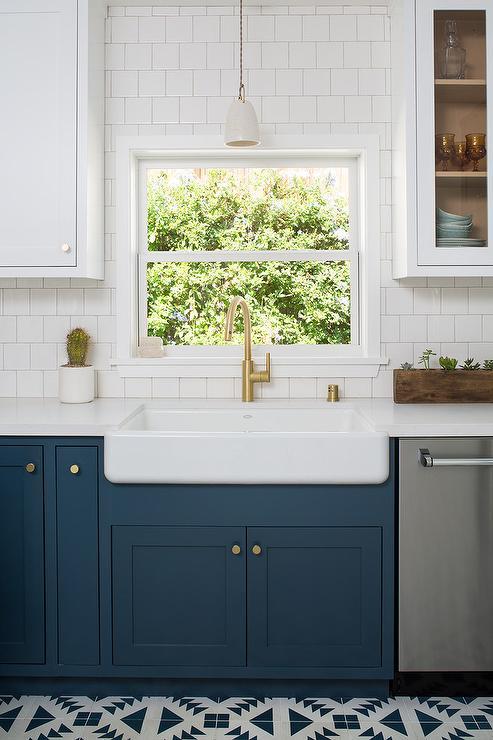 Hague Blue Kitchen Cabinets Design Ideas
