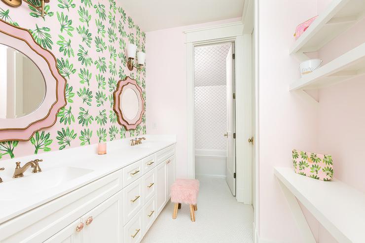 L Shaped Bathroom Vanity Design Ideas