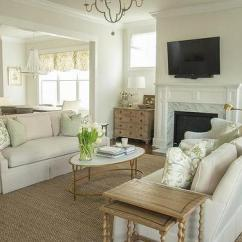 Living Room Dressers French Country Design Ideas Under Windows Light Gray Skirted Sofas With Sage Green Pillows