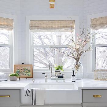 bay windows over kitchen sink design ideas
