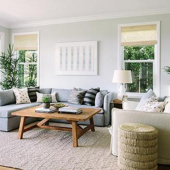 modern gray living room best warm colors for rooms cream and design ideas sectional with white glass double gourd lamp