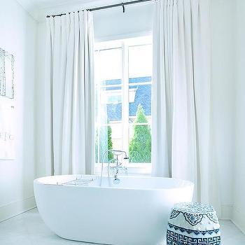 oil rubbed bronze bathroom curtain rod