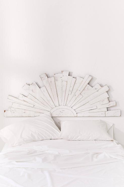 loretta whitewashed wood sunbeam headboard