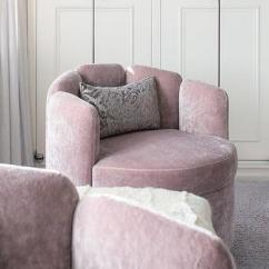 Bedroom Chair Pink Velvet Human Touch Massage Chairs Design Ideas Swivel Accent With Gray Pillows