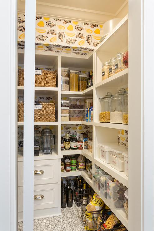 Side Panel On Kitchen Cabinet Organizer with Key Hooks and Shelves  Transitional  Kitchen