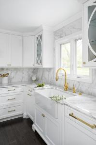 Brass Gooseneck Kitchen Faucet Design Ideas