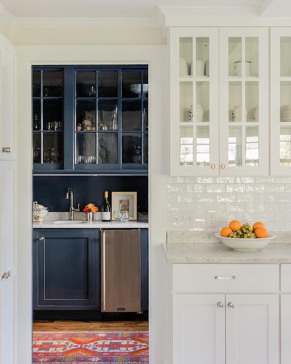 white glazed crackle subway tiles with