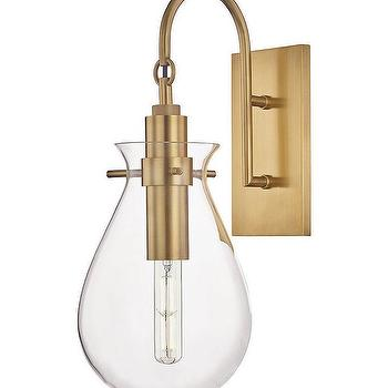 glass sconce look 4 less and steals