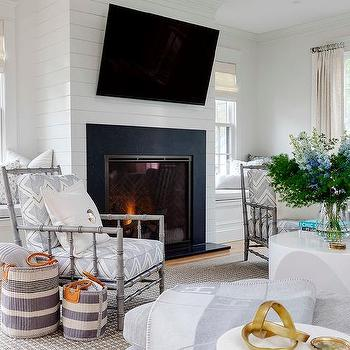 Tilted Tv Over Fireplace Design Ideas