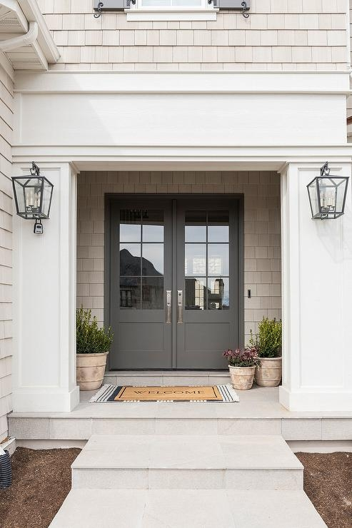 Steps To Front Door Design Ideas | Front Porch Steps Designs | Porch Style | Beautiful Front | Front Entry Brick Stair | Outside | Outdoor Step