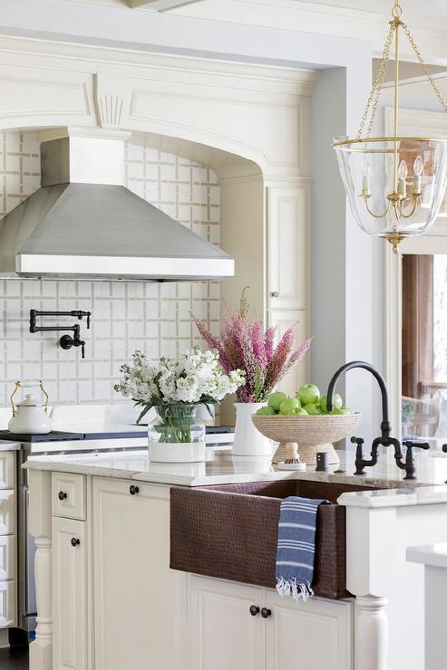 copper kitchen faucet design ideas