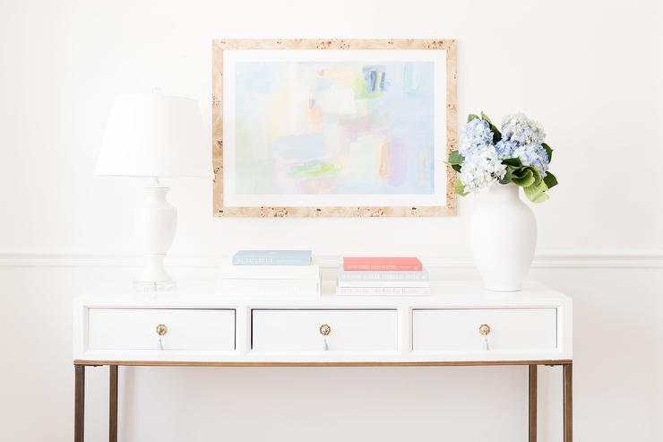 console table books design ideas