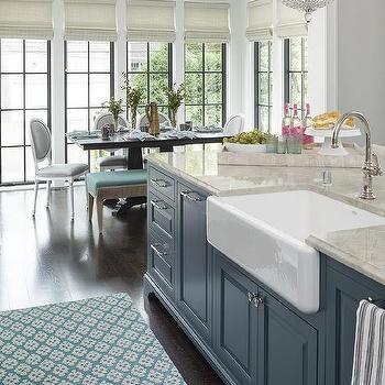 Kitchen Island Farm Sink Design Ideas