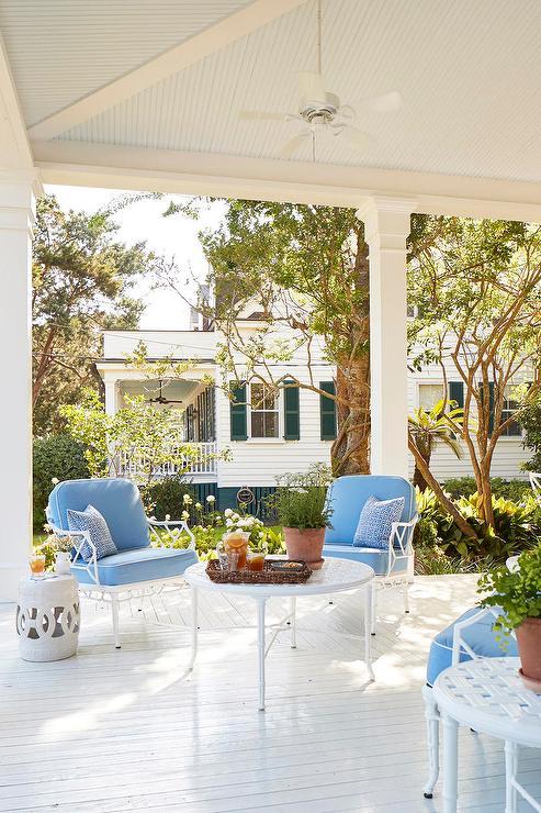 Wrought Iron Patio Chairs White, White Rod Iron Patio Furniture