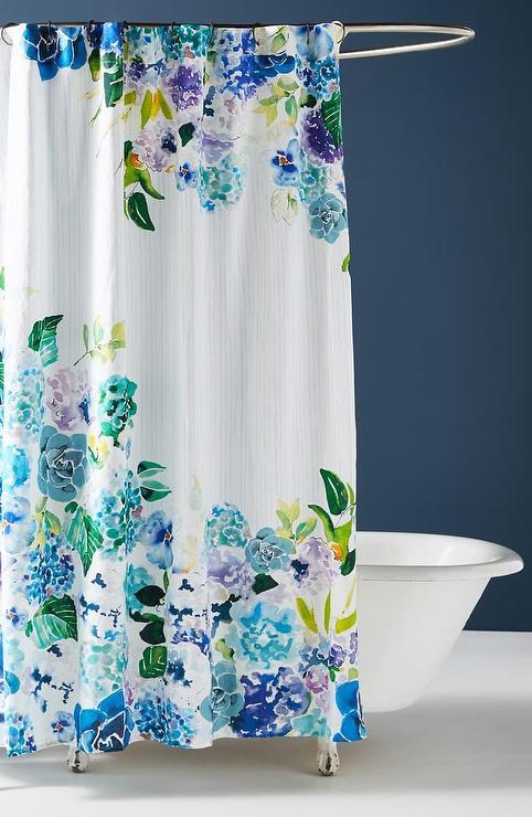 sarah hackinson blue floral cotton