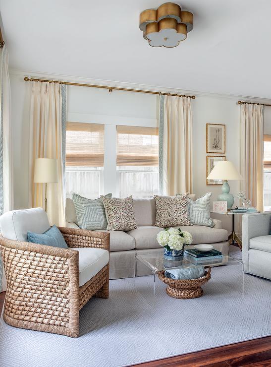 Cream And Gray Living Room Design Ideas