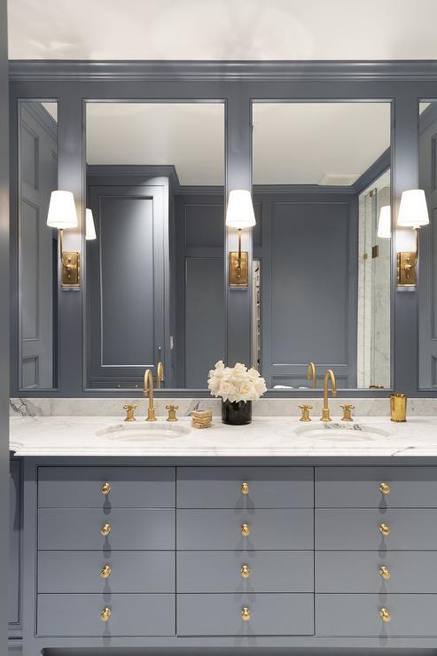 apothecary style bath vanity design ideas