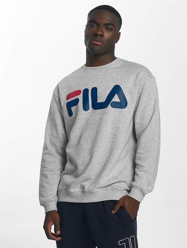 FILA Männer Pullover Urban Line Classic Logo in grau