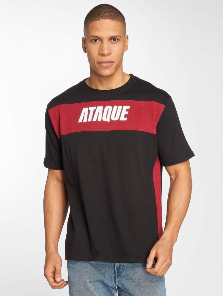 Ataque Männer T-Shirt Getxo in schwarz