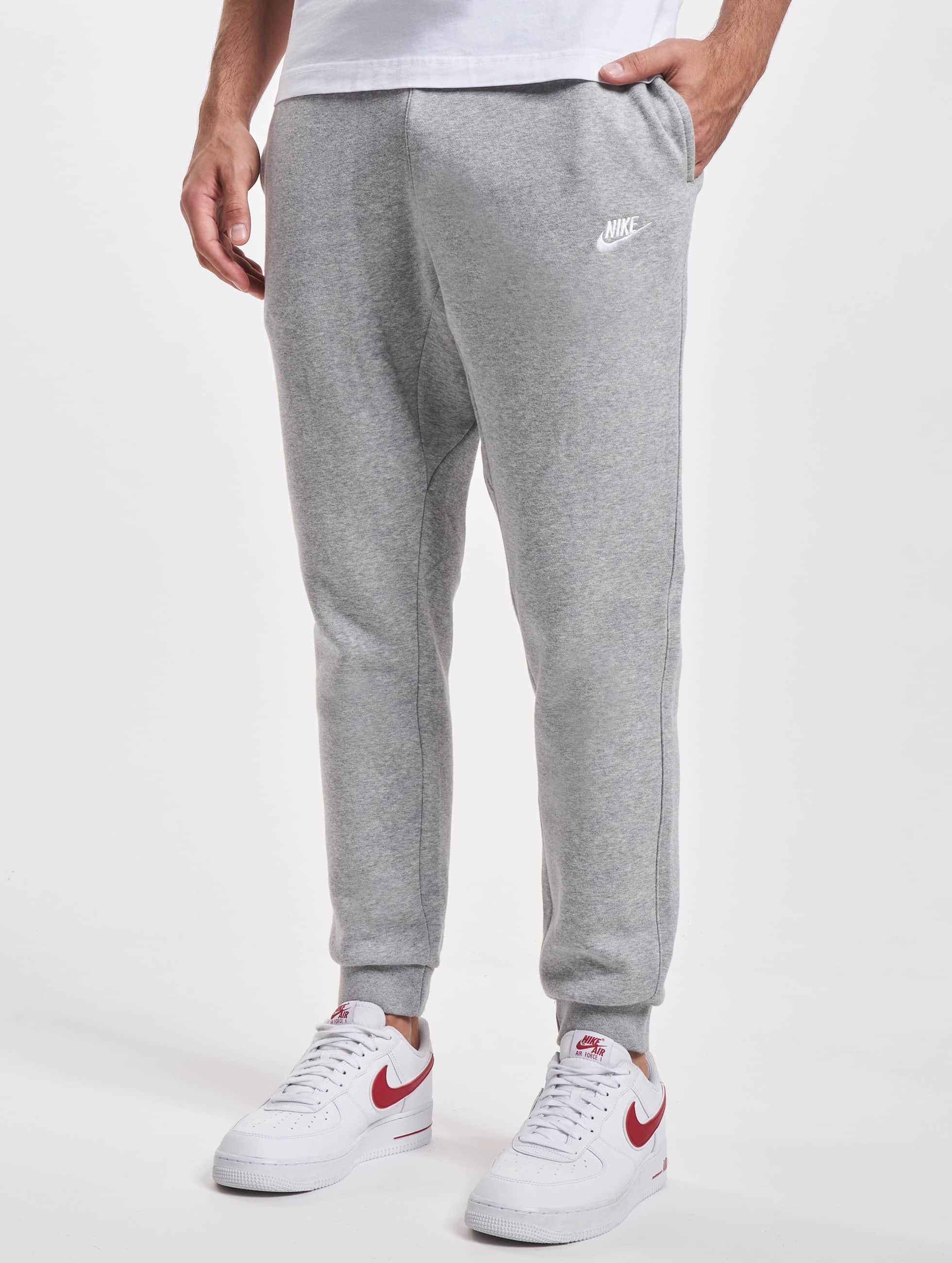 new styles 4838c b1d55 nike jogginghose nsw flc club grau