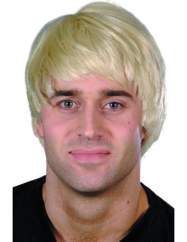 Short Blonde Modern Wig Men Wigs And Fancy Dress
