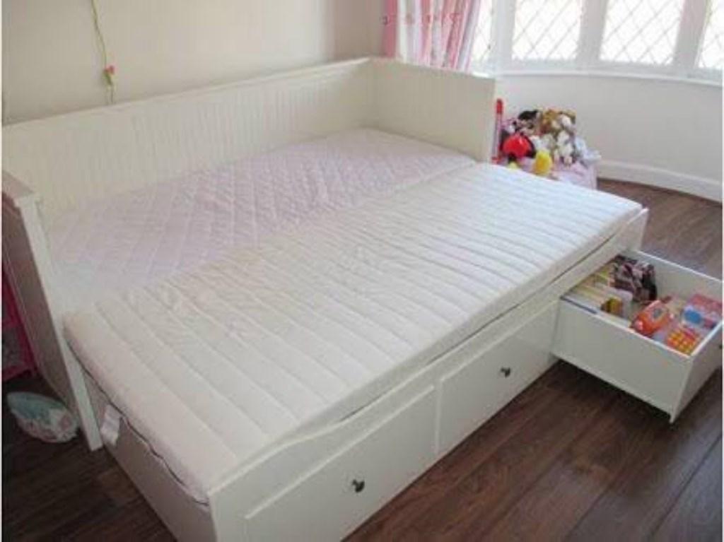 Ikea Divan Hemnes Beyaz ikea hemnes divan karyola eskice yatak Imagens da serie malm e hemnes
