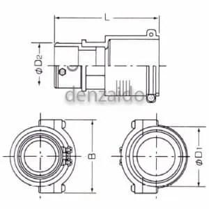 FEPA-40-G36 (バクマ工業)|地中埋設管|電気配管|0536000031695|電材堂【公式】