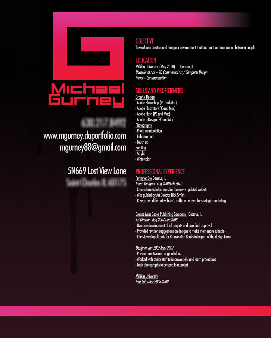 54 Impressive and WellDesigned Resume Examples For Inspiration  Designbeep