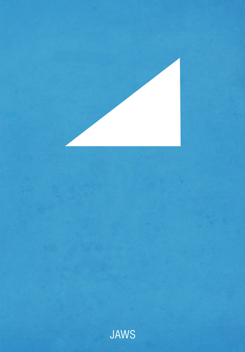 Excellent Minimal Remakes Of Movie Posters From Hexagonall