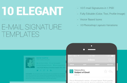 free email signatures templates