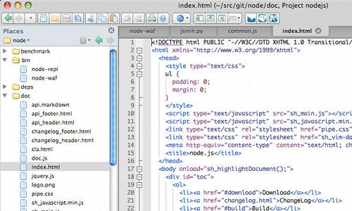 12 Useful Code Editors For Mac Designbump
