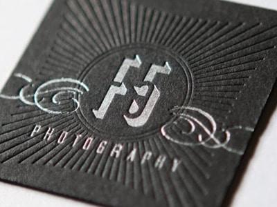 24 Beautiful Letterpress Business Cards DesignBump