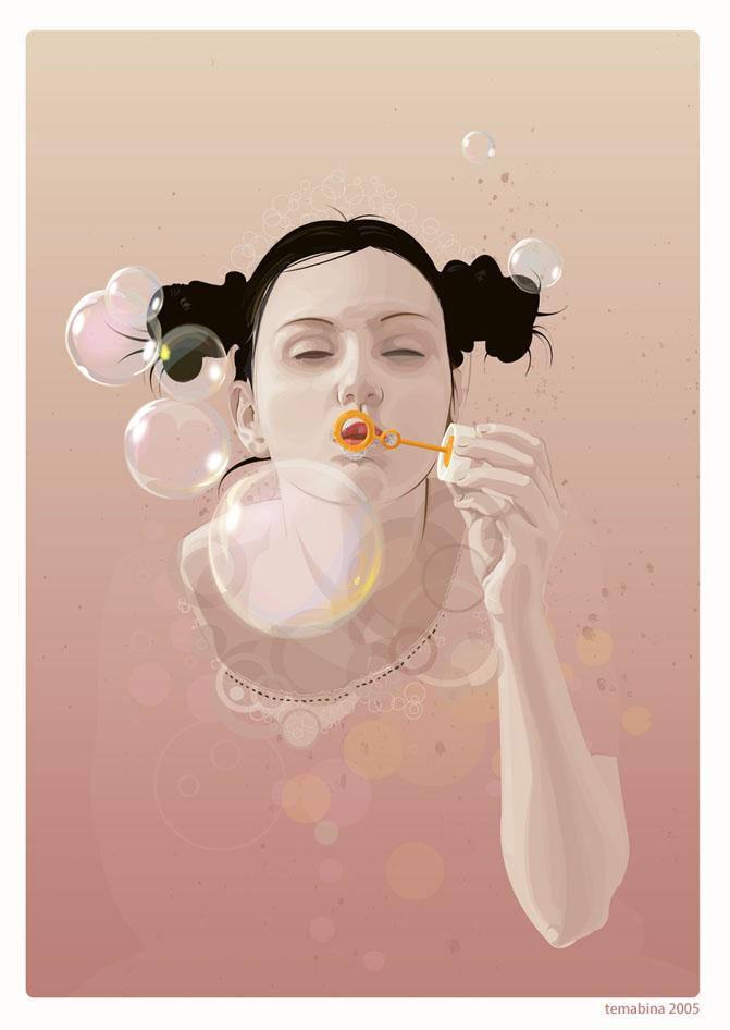 30 amazing vector portrait