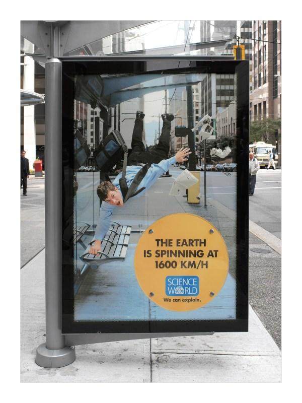 Creative Science Museum Ads -designbump