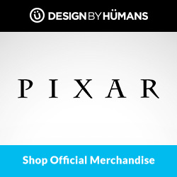 Shop officially licensed Pixar apparel at DesignByHumans.com.