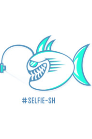Selfie Sh T Shirt By Addu A fish taking a selfie with hashtag