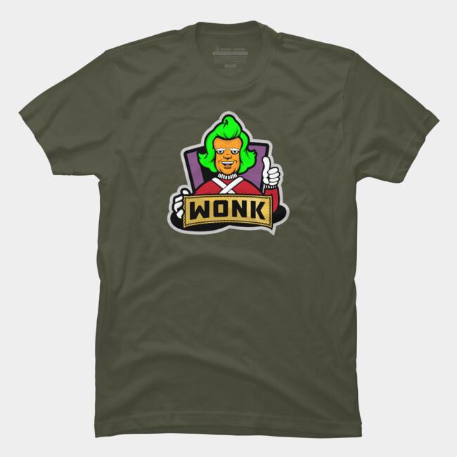 wonkstronk apparel t shirt