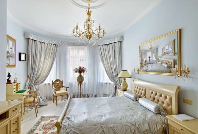 Bedroom Decorating Ideas Blue And Brown Gold