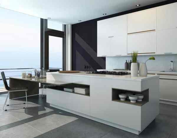 contemporary kitchen island design 77 Custom Kitchen Island Ideas (Beautiful Designs) - Designing Idea