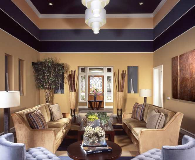 Perfect Living Room Paint Ideas High Ceilings Collection Stair Railings And Decorating