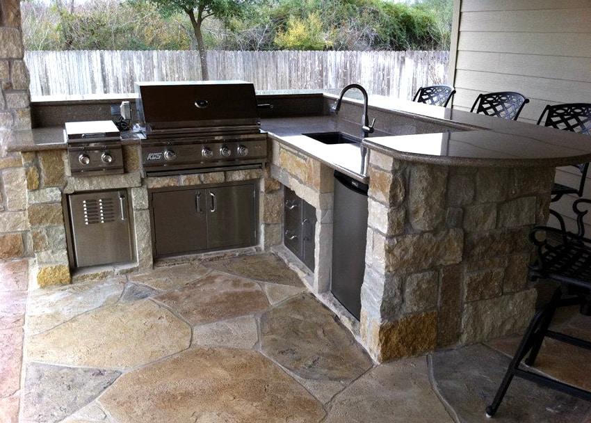 30 Outdoor Kitchen Ideas  Designs Picture Gallery