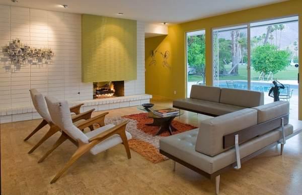 mid century modern living room design 60 Stunning Modern Living Room Ideas (Photos) - Designing Idea