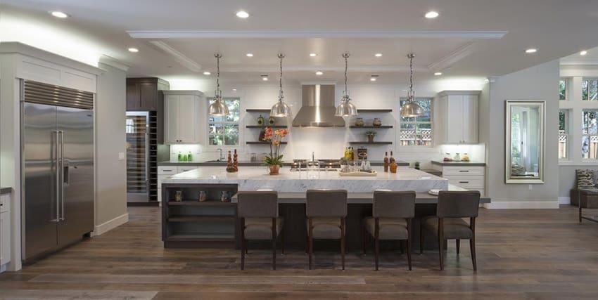 50 Best White Kitchen Cabinet Ideas and Designs 2018